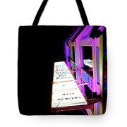 Midnight Perspective Tote Bag