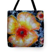 Midnight Poppies Tote Bag