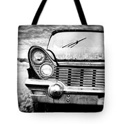 Midnight Ride Tote Bag by Scott Pellegrin