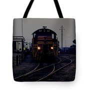 Midnight Train Tote Bag