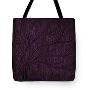 Midnight Tree Tote Bag