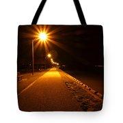 Midnight Walk Tote Bag
