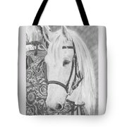 Midsummer Knight Majesty Tote Bag by Gigi Dequanne