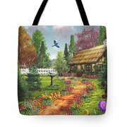 Midsummer's Joy Tote Bag