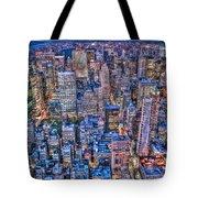 Midtown Manhattan Skyline Tote Bag