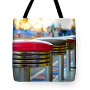 Midway Line Up Tote Bag