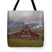 Midway Ranch Barn Tote Bag
