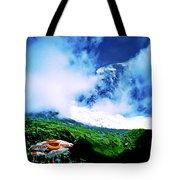 Le Milieu De Mont Blanc   Tote Bag