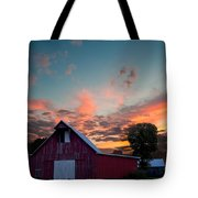 Midwest Barn  Tote Bag