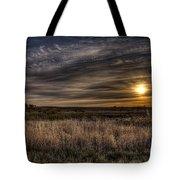 Midwest Sunrise Tote Bag