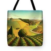 Midwest Vineyard Tote Bag