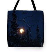 Midwinter Moonrise Tote Bag