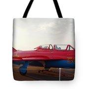 Mig Trainer Jet Tote Bag