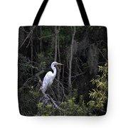 Mighty Heron Tote Bag