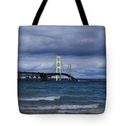 Mighty Mack Bridge Tote Bag