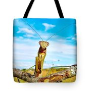 Mighty Super Mantis Tote Bag
