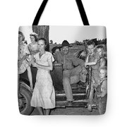 Migrant Workers, 1939 Tote Bag