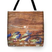 Migrated Birds Tote Bag