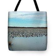 Migrating Geese Tote Bag