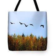 Migratory Flight Tote Bag