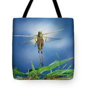 Migratory Locust Flying Tote Bag