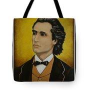 Mihai Eminescu  Tote Bag by Elena  Constantinescu