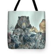 Mika Animals Tote Bag