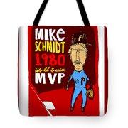 Mike Schmidt Philadelphia Phillies Tote Bag