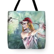 Miki Self Portrait Golfing Tote Bag