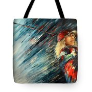 Miki Self Portrait With Driver Tote Bag