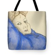 Mikki In Blue Tote Bag