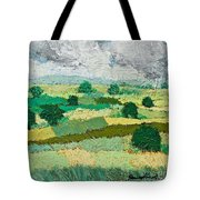 Mild Valley Tote Bag