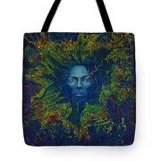 Miles. Aura. Into Creation Tote Bag