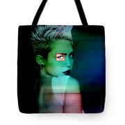 Miley Cyrus Tote Bag