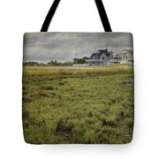 Milford Point Beach Tote Bag