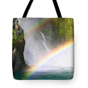 Milford Sound Tote Bag by Tom Gowanlock