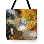 Military Flame Thrower Photo Art 02 Tote Bag