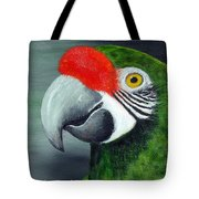 Military Macaw Tote Bag