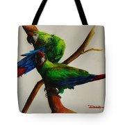 Military Macaws Tote Bag