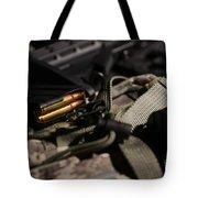 Military Pile Tote Bag