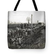 Military Railway, C1863 Tote Bag