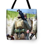 Military Small Arms 03 Ww II Tote Bag by Thomas Woolworth