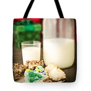 Milk And Cookies Tote Bag by Edward Fielding