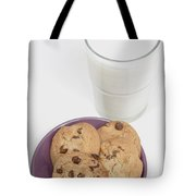 Milk And Cookies Tote Bag by Greenwood GNP