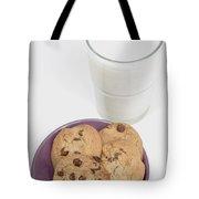 Milk And Cookies Tote Bag by Greenwood GNP