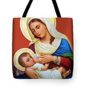 Milk Grotto Icon Tote Bag