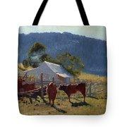 Milking Time. Araluen Valley Tote Bag