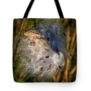 Milkweed 3 Tote Bag