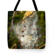 Milkweed 4 Tote Bag