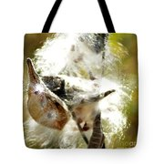 Milkweed Blowout Tote Bag